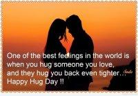 hug day for love