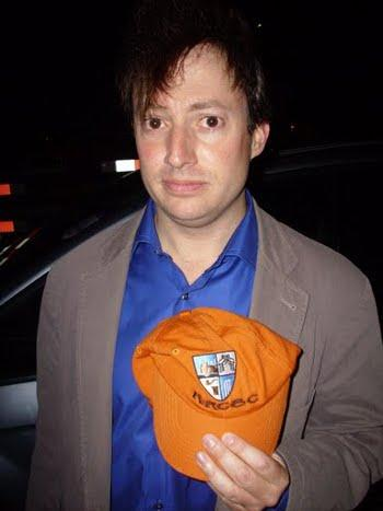 That King's Road look: Peep Show funnyman David Mitchell likes our cap