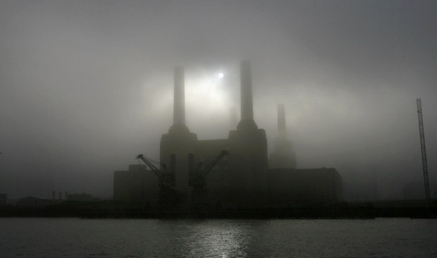 Mists of time ... well, Battersea Power Station in 2006 actually