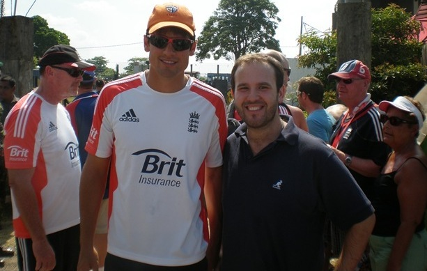 'Please can I play for you?': Alastair Cook is the latest star to don our famous cap