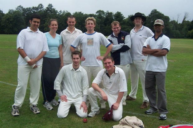 Back in the day ... the team in 2007