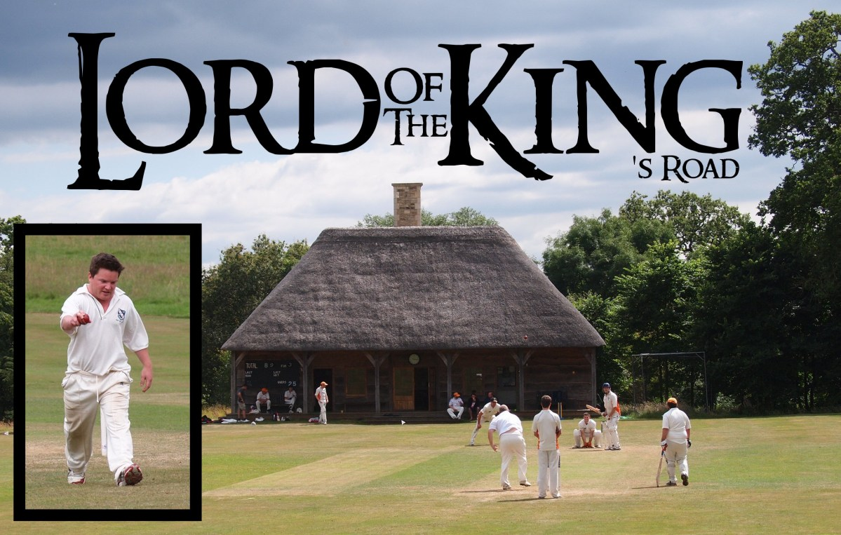 "You shall not pass! ""Frodo"" takes six wickets to rule them all as King's Road go down in the Shire (that's Wiltshire)"