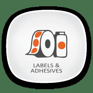label adhesives