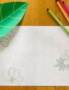 Coloriages jungle tropicale pour enfant