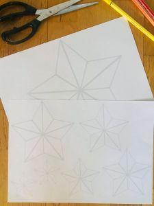 Etoile en papier facile à faire