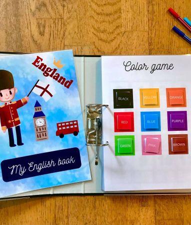 DIY activité d'initiation à l'anglais