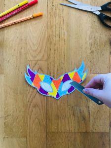 Masque de carnaval facile à faire