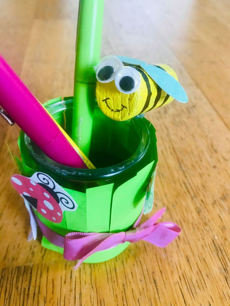 DIY pot à crayons