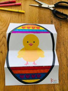 Bricolage pâques pour enfant