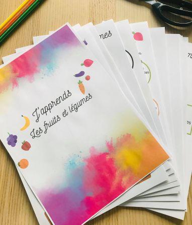 PDF à imprimer activités sur les fruits et légumes