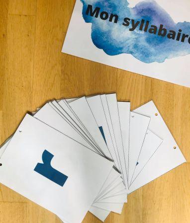 Syllabaire à imprimer pour enfant
