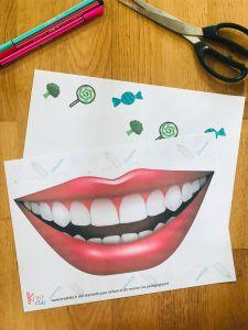 Activité brossage de dent pour enfant