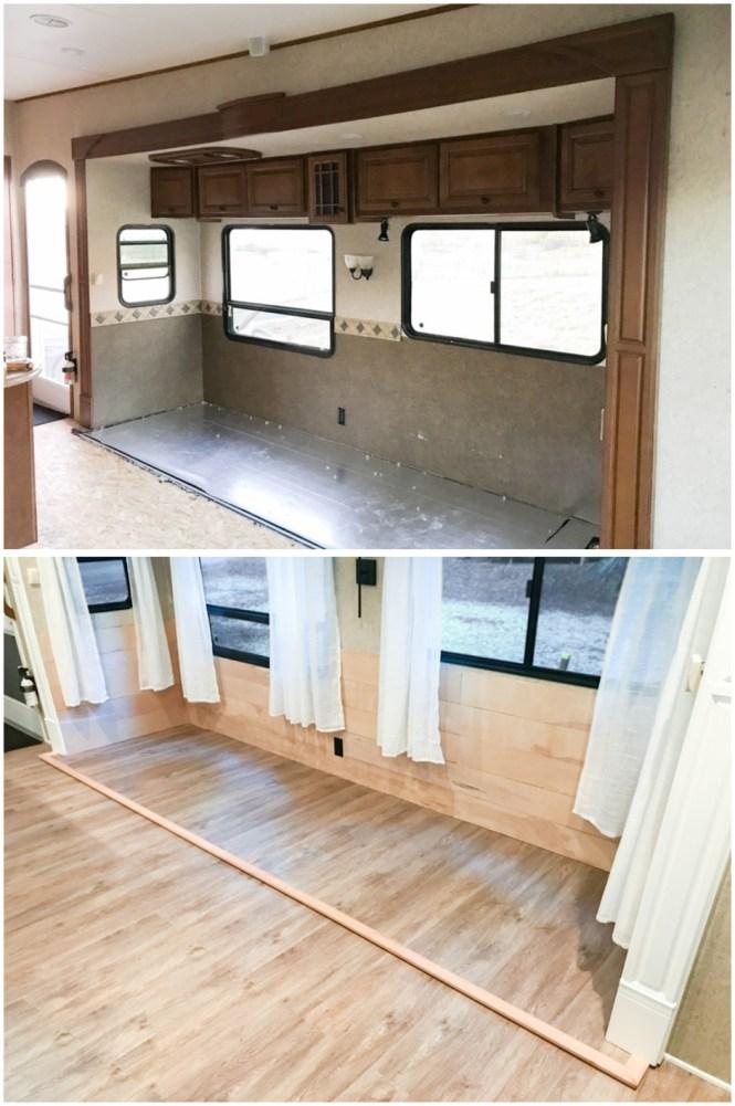 Replacing That Old Carpet Kreating Homes, Replacing Carpet With Laminate Flooring In Rv