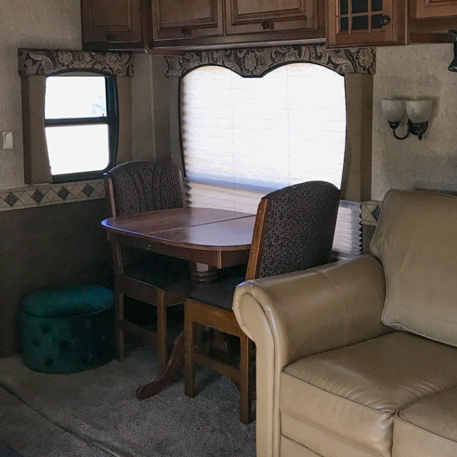Replacing RV window treatments