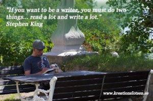 Kreationslotsen, skrivövningar, skrivtips