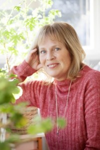 Mariette Lindstein i Skrivradion med Jeanette Niemi Kreationslotsen