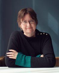 Maria Fallström gäst i Skrivradion foto Johan fallström