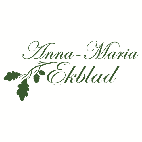 Logga Anna-Maria Ekblad Bokskrivarfestivalen