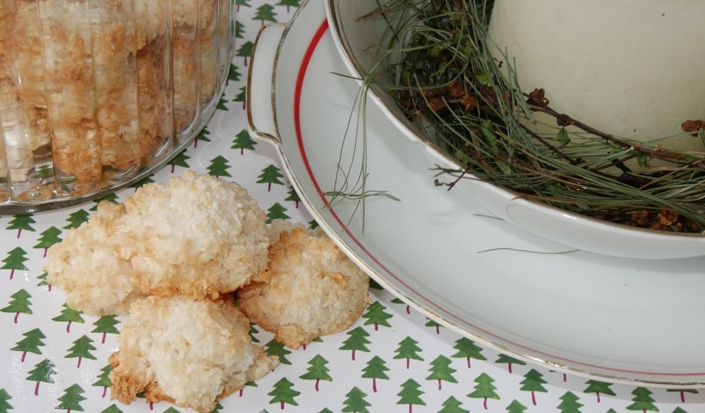 Kokosmakronen nach Omas Berliner Rezept