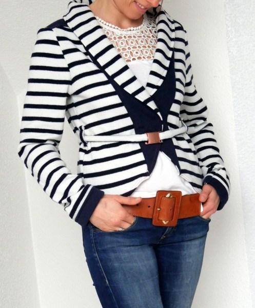 Cardigan LOVISA – legere Jacke mit Pfiff für Anfänger & Fortgeschrittene