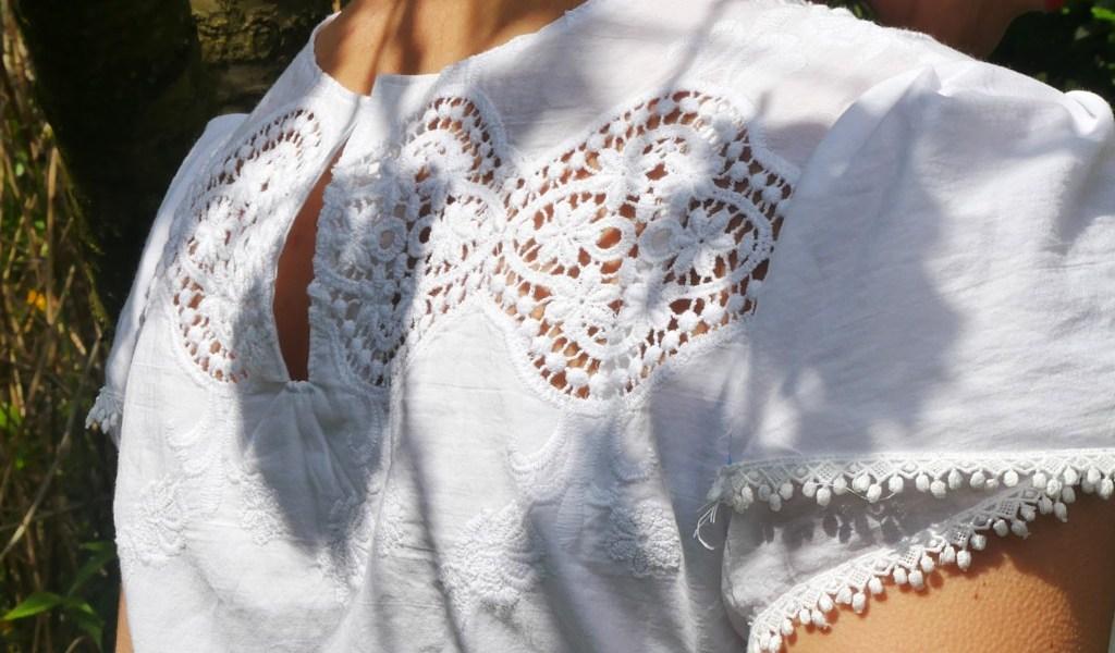 Tutorial Schlitz im Rückenteil für besseren Einstieg ins Kleid