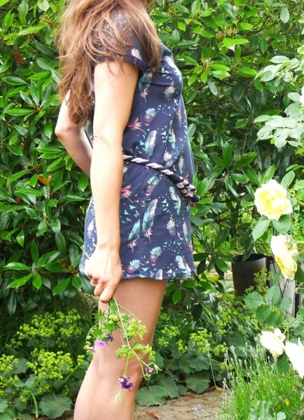 DIY Sommerkleid, alternativ auch als Longshirt über einer Leggins oder Jeans zu tragen