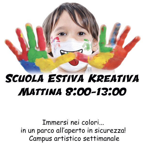 ScuolaEstivaBambini2020 Mattina 1 - Kreativa