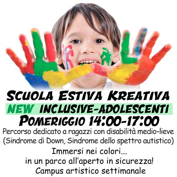 ScuolaEstivaRagazzi2021 Pomeriggio INCLUSIVE 1 - Kreativa