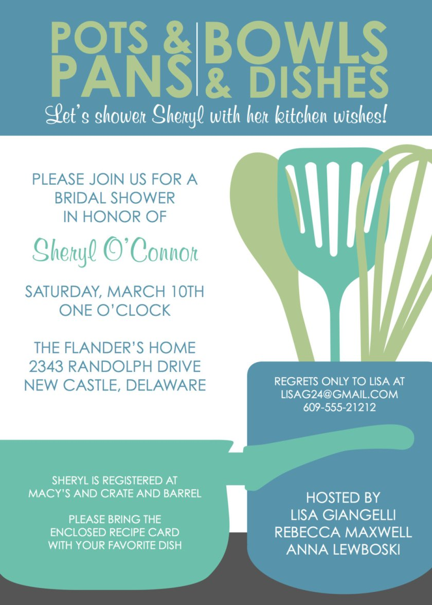 Gallery For Bridal Shower Invitations Templates Free