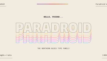 Typold font - Kreativ Font