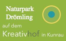 Logo der Kooperation Kreativhof und Naturpark Drömling, Kunrau