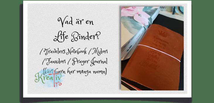 Travelers Notebook Life Binder Prayer journal