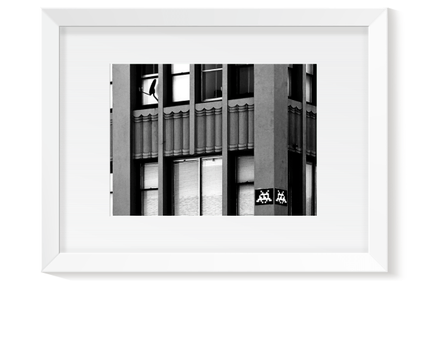 BOUTIQUE - INVASION LA - Cedric Darrigrand - Kreatox - Tirage Paysage