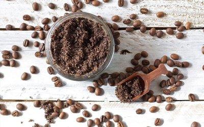 Naturalny peeling z kawy