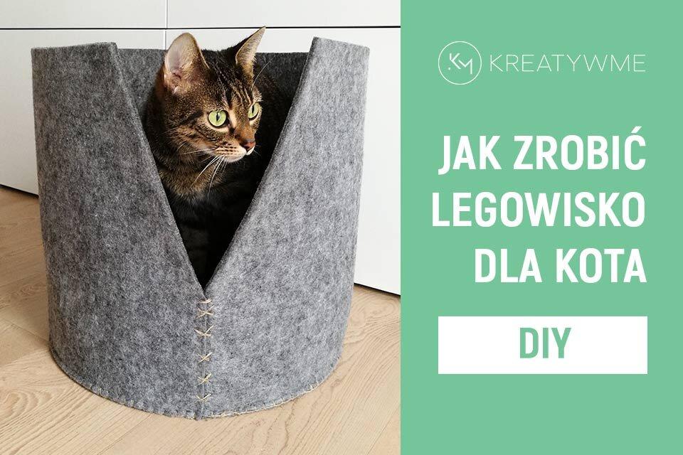 Jak zrobić legowisko dla kota