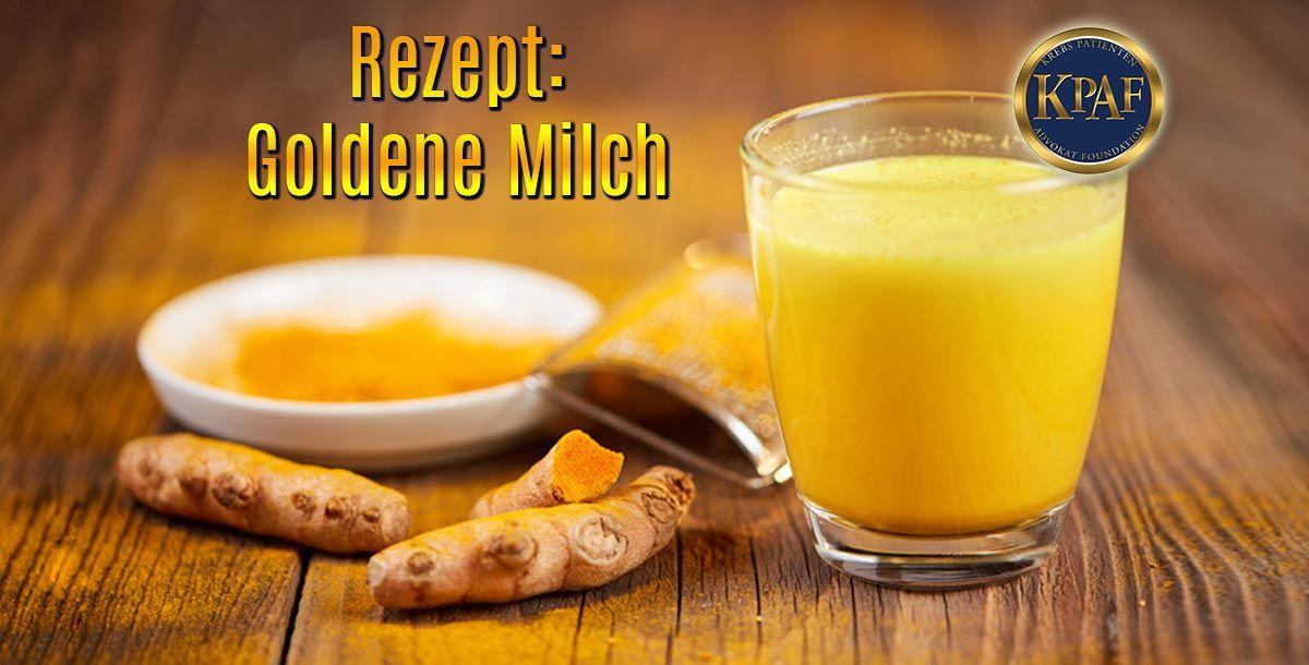 Curcuma Milch - schmackhaft, süsse Entgiftung - ideal für kalte Tage