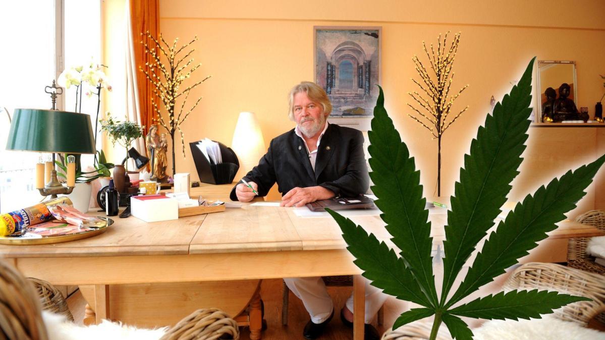 Hausdurchsuchung bei Cannabis-Arzt Rolf Müller