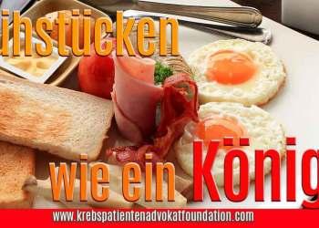 KPAF® Frühstücken wie ein König?