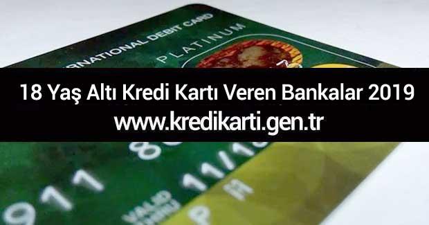 18-yas-alti-kredi-karti-veren-bankalar-2019
