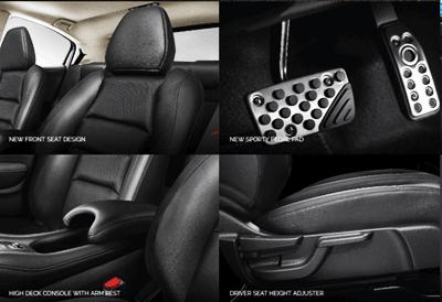 Interior Mewah Honda HRV