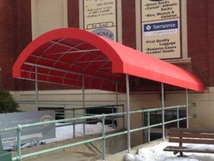 Entrance Canopies Kreider S Canvas Service Inc