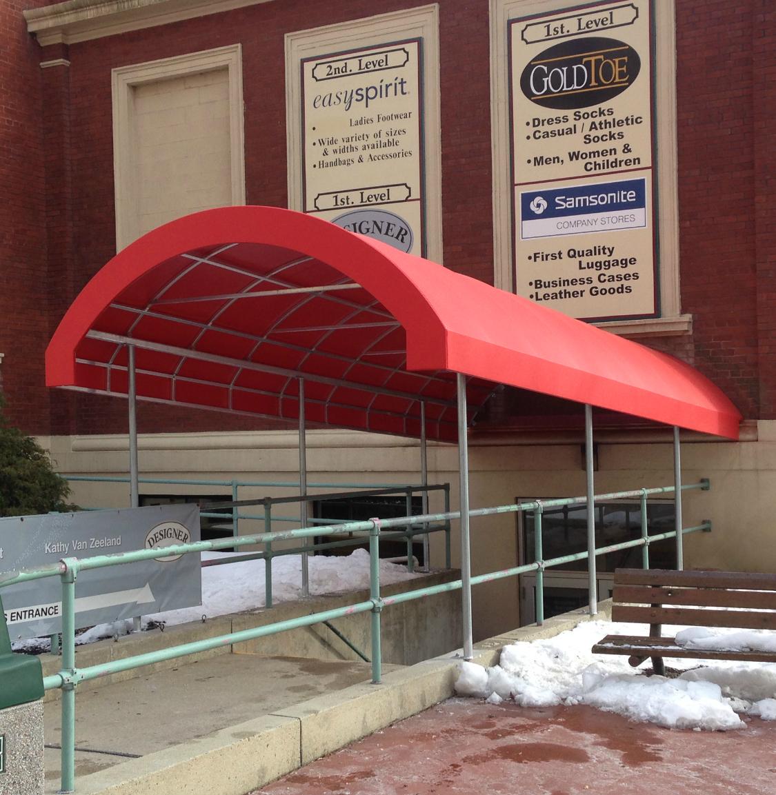 Vf Basement Entrance Canopy Cover Kreider S Canvas