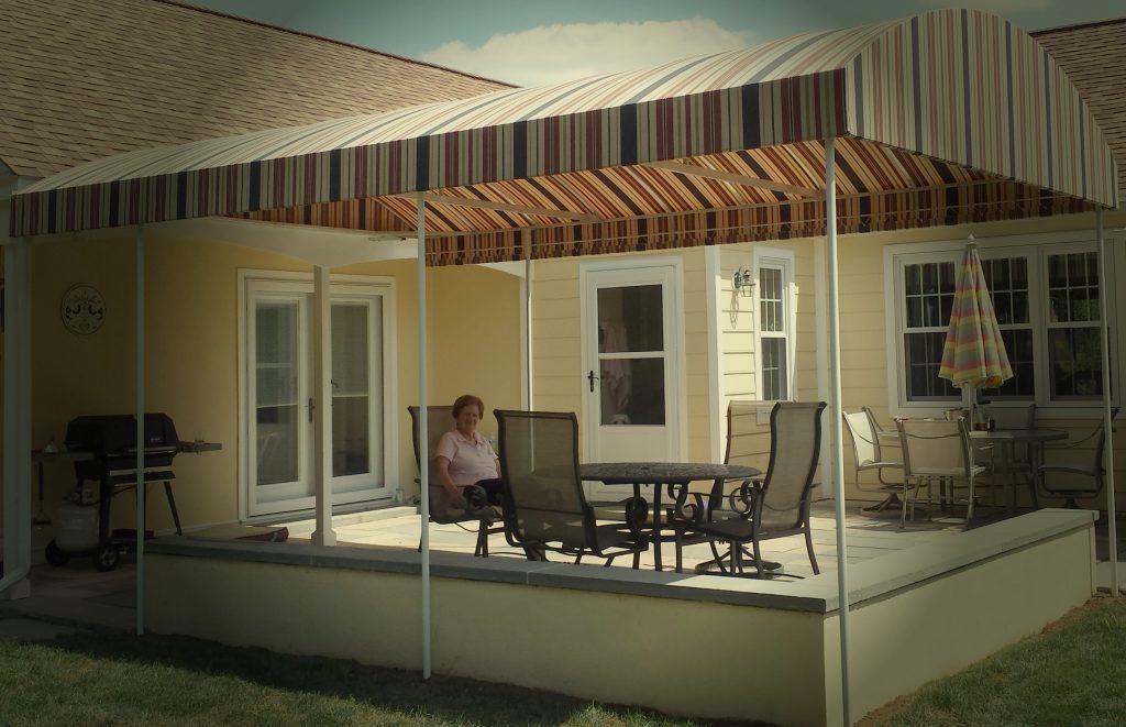 Patio Cover Arched Design Kreider S Canvas Service Inc