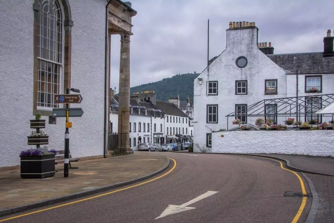 Schottland - Inveraray - Main St
