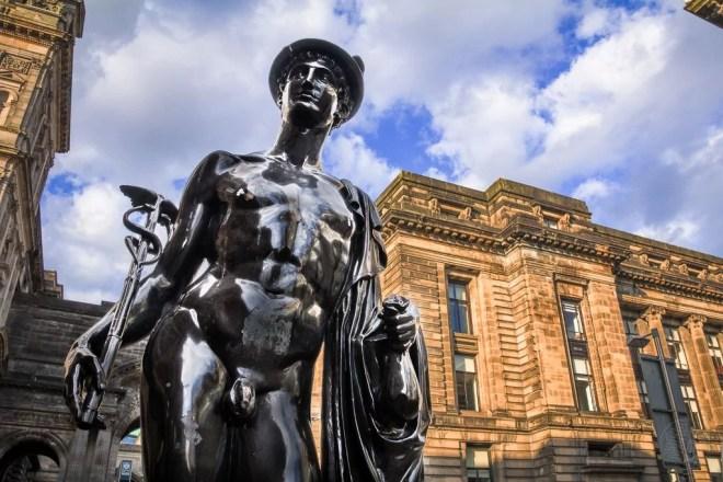 Schottland - Glasgow - Denkmal Italien Centre