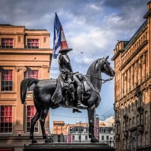 Schottland - Glasgow - Denkmal