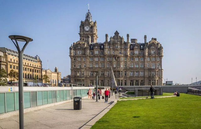 Schottland - Edinburgh - Balmoral Hotel
