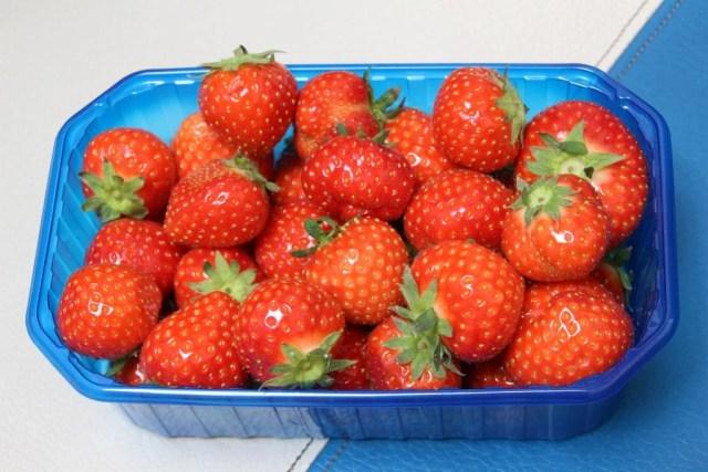 新鮮なイチゴ