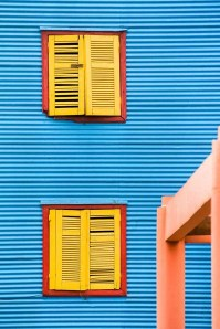 Abstract - Colourful Windows