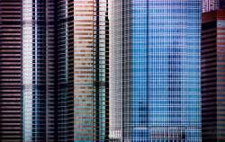 Abstract - Hong Kong - Hochhaeuser 01
